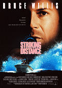 Striking Distance 1993 Movie poster Bruce Willis