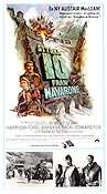 Force 10 From Navarone 1978 poster Harrison Ford Guy Hamilton