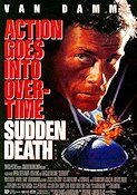 Sudden Death 1995 Movie poster Jean-Claude van Damme