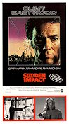 Sudden Impact 1983 Movie poster Clint Eastwood