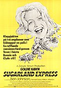 Sugarland Express 1974 Movie poster Goldie Hawn Steven Spielberg