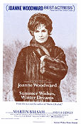Summer Wishes Winter Dreams 1973 Movie poster Joanne Woodward