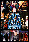 Super Mario Bros 1993 Movie poster Bob Hoskins