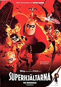 The Incredibles 2004 poster