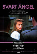 Une affaire de femmes 1988 Movie poster Isabelle Huppert Claude Chabrol