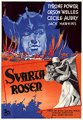 The Black Rose 1950 poster Tyrone Power