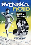 Svenska Floyd 1961 Movie poster Carl-Gustaf Lindstedt