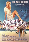 Swing Shift 1982 Movie poster Goldie Hawn