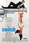 Switch 1991 Movie poster Ellen Barkin Blake Edwards