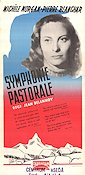 Symphonie Pastorale 1946 Movie poster Michele Morgan