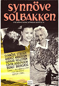 Synnöve Solbakken 1957 Movie poster Synnöve Strigen