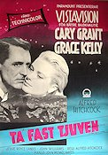 To Catch a Thief 1956 Movie poster Cary Grant Alfred Hitchcock