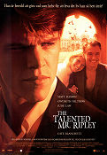 The Talented Mr Ripley 1999 poster Matt Damon Anthony Minghella