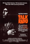 Talk Radio 1989 Movie poster Eric Bogosian Oliver Stone
