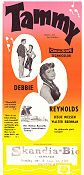 Tammy and the Bachelor 1957 poster Debbie Reynolds Joseph Pevney