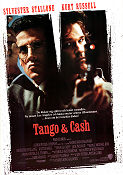 Tango and Cash 1989 poster Sylvester Stallone Andrey Konchalovskiy
