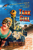 Tank Girl 1995 poster Lori Petty Rachel Talalay