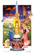 The Black Cauldron 1985 poster