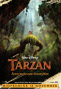 Tarzan Disney 1999 Movie poster