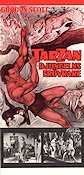 Tarzan and the Trappers 1971 Movie poster Gordon Scott