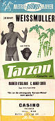 Tarzan the Ape Man 1932 poster Johnny Weissmuller