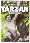 Tarzan the Ape Man 1932 Movie poster Johnny Weissmuller