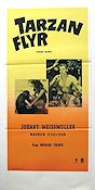 Tarzan Escapes 1936 Movie poster Johnny Weissmuller