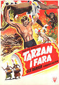 Tarzan's Peril 1951 Movie poster Lex Barker