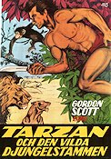 Tarzan and the Lost Safari 1957 poster Gordon Scott H Bruce Humberstone