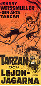 Tarzan and the Huntress 1947 Movie poster Johnny Weissmuller