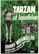 Tarzan and the Leopard Woman 1946 poster Johnny Weissmuller