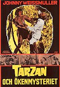 Tarzan's Desert Mystery 1943 Movie poster Johnny Weissmuller