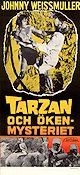 Tarzan´s Desert Mystery 1943 poster Johnny Weissmuller William Thiele