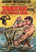 Tarzan and the Mermaids 1948 poster Johnny Weissmuller Robert Florey