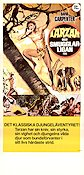 Tarzan och smugglarligan 1978 Movie poster David Carpenter