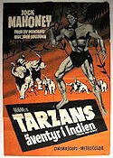 Tarzan Goes to India 1962 Movie poster Jock Mahoney