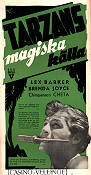 Tarzan´s Magic Fountain 1949 poster Lex Barker