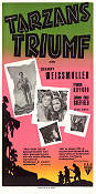 Tarzan Triumphs 1943 Movie poster Johnny Weissmuller