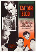 Gud fader och tattaren 1954 Movie poster Ulf Palme Hampe Faustman