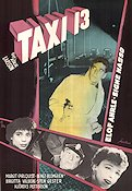 Taxi 13 1954 Movie poster Margit Carlqvist