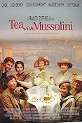 Tea with Mussolini 1999 Movie poster Cher