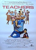 Teachers 1984 Movie poster Nick Nolte