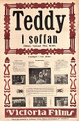 Teddy i soffan 1915 Movie poster Victor Arnold