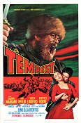 Tempest 1967 Movie poster Van Heflin