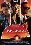 Tequila Sunrise 1988 Movie poster Mel Gibson