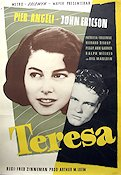 Teresa 1951 Movie poster Pier Angeli