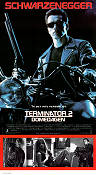 Terminator 2 1991 Movie poster Arnold Schwarzenegger James Cameron