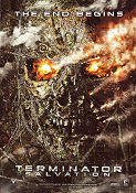 Terminator Salvation 2009 Movie poster Christian Bale