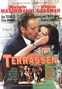 La terrazza 1980 Movie poster Marcello Mastroianni Ettore Scola