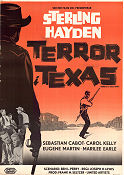 Terror in a Texas Town 1958 poster Sterling Hayden Joseph H Lewis